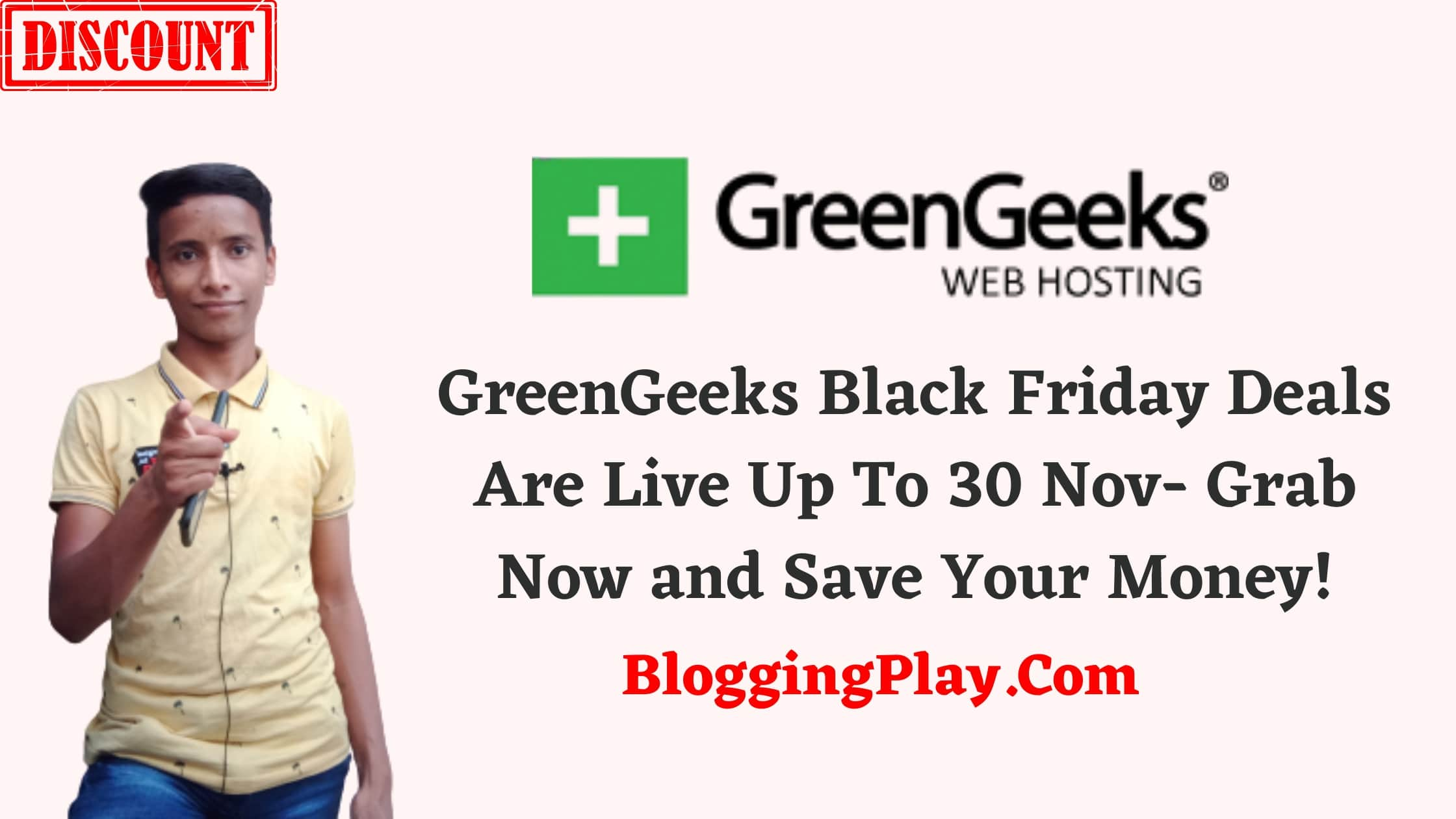GreenGeeks Black Friday Deals Offer