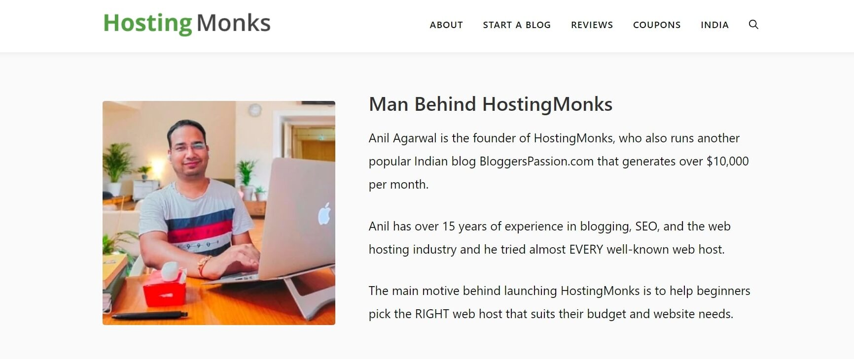 HostingMonks Review