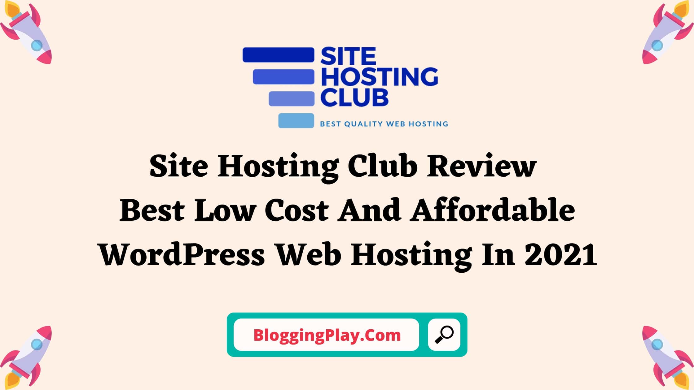 Site Hosting Club Review Blog Post