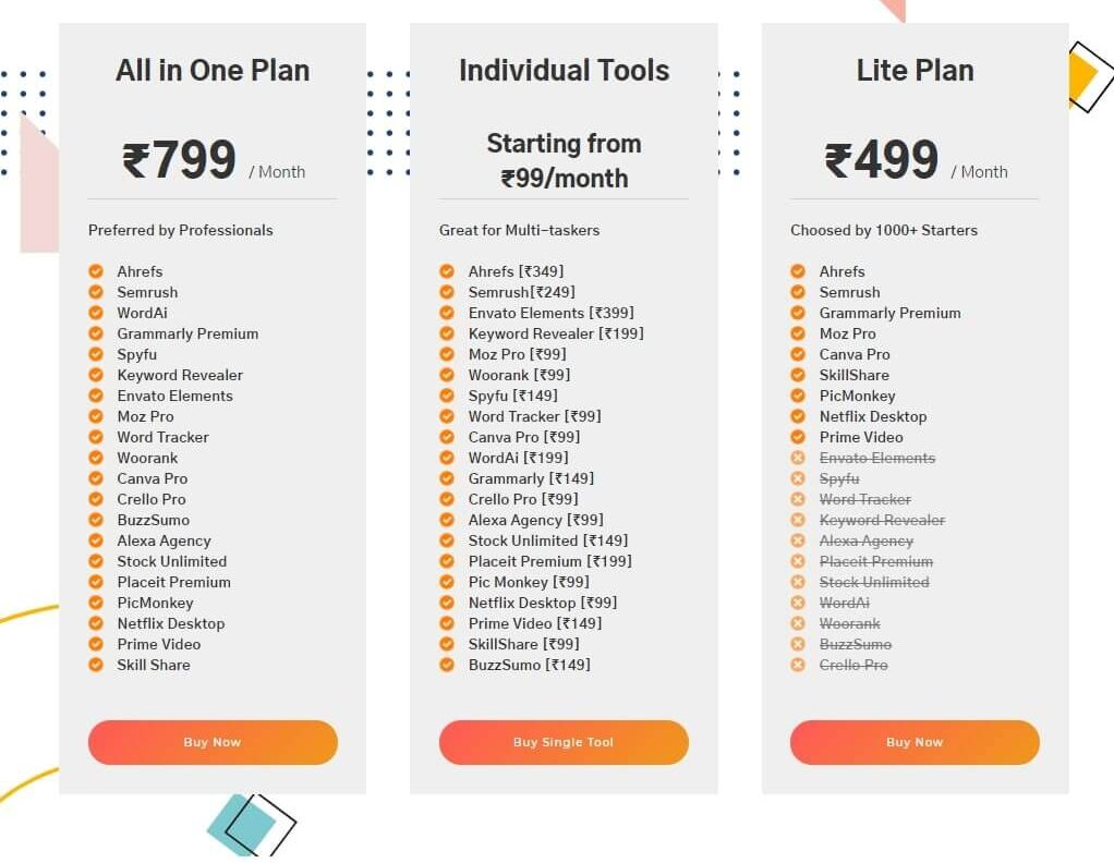 ToolsPur Review Plans and Pricing